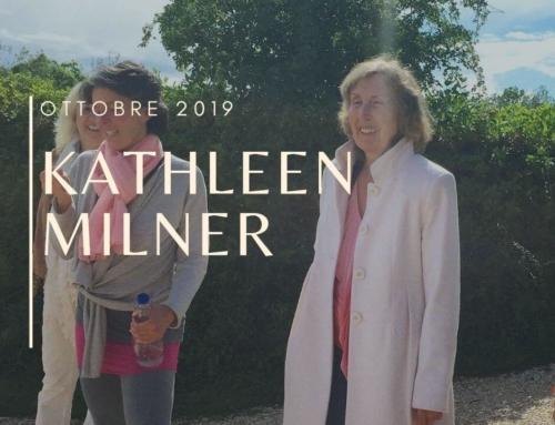 Programma degli incontri con Kathleen Milner 2019 – Kathleen Milner's Tera Mai Classes In Italy 2019